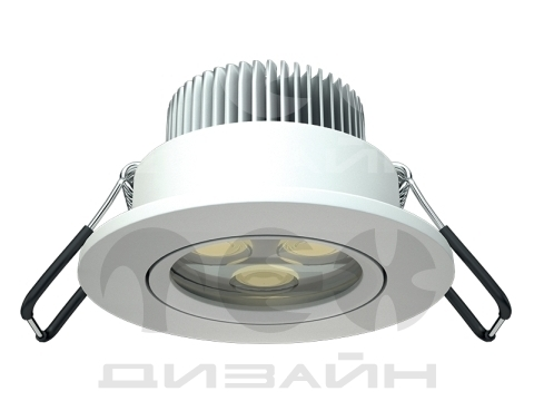 Светильник DL SMALL 2021-5 LED WH